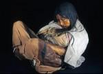 Мумия девочки из племени инков, жертва ритуального убийства 500 лет назад. Credit: Johan Reinhard