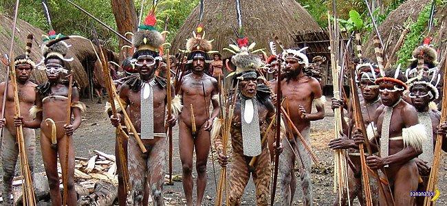 Папуасы Новой Гвинеи