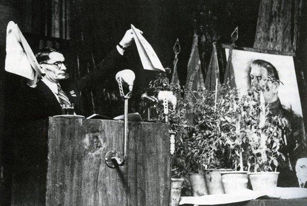 Выступление Лысенко на сессии ВАСХНИЛ 1948г.