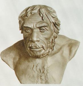 Неандерталец, реконструкция М.М.Герасимова.