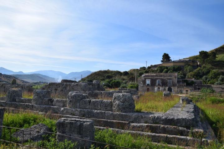 Храм в Гимере, построенный в честь победы в битве 480 года до н.э. Credit: Katherine Reinberger