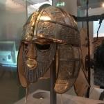 Англосаксонский шлем, около 625 г. н.э.  из коллекции Британского музея. Credit: Photo: Elissa Blake/University of Sydney