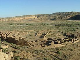 Пуэбло-Бонито в каньоне Чако.