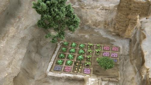 Компьютерная реконструкция погребального сада