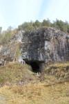 Общий вид Денисовой пещеры.