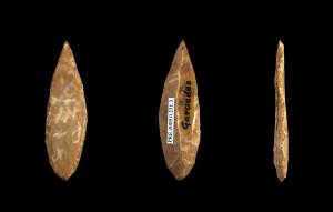 Flechette paléolithique Breuil