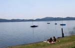 Современный вид озера Лаахерзее (фото Я.В. Кузьмина)