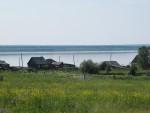 Кетская деревня Бахта, в южной части Енисея (фото Ольги Коноваловой).