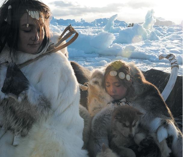 Гренландские инуиты (http://www.nature.com/news/genomics-is-failing-on-diversity-1.20759)