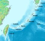 Острова Рюкю. Источник: Википедия.