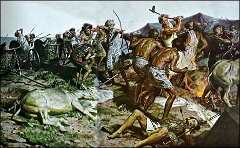 Рисунок с сайта http://thiswas.ru/praistoriya/oruzhie-neolita-chast-2.html