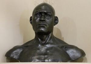 Человек со стоянки Сунгирь, реконструкция М.М.Герасимова.