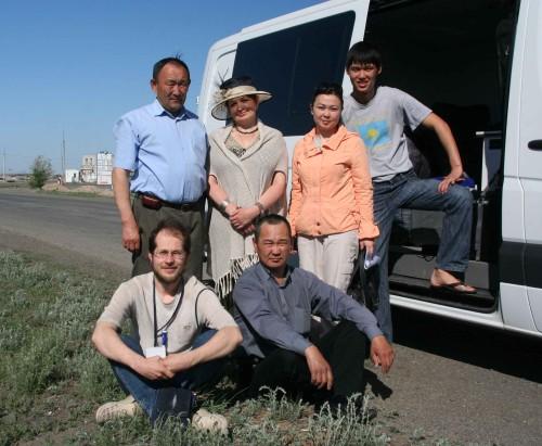 Экспедиция в Казахстан. В степи.