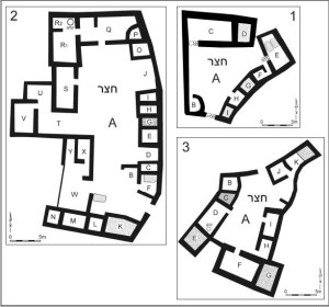 Yarmukian_Culture_-Sha'ar_HaGolan,_curtyard_buildings