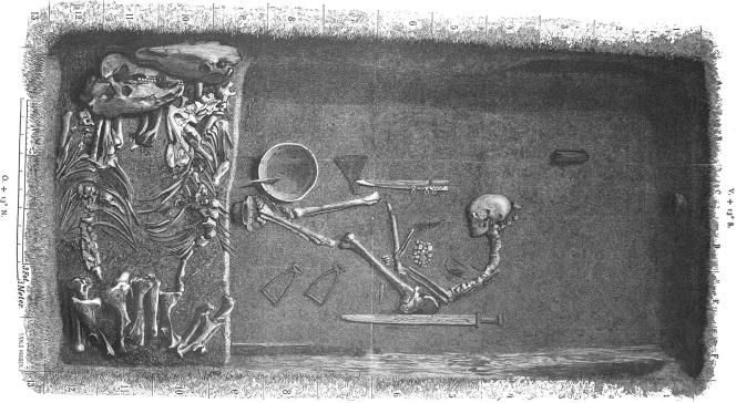 Реконструкция захоронения, Evald Hansen