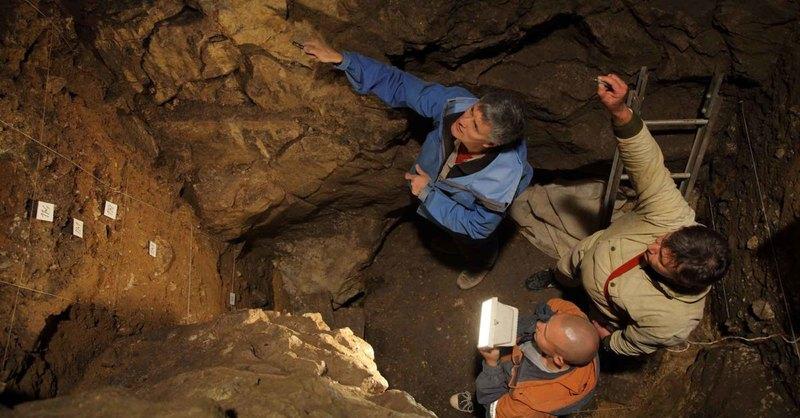 Раскопки в Денисовой пещере. IAET SB RAS/Sergei Zelensky/