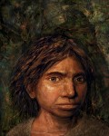 Реконструкция внешности денисовской женщины. Credit: Maayan Harel
