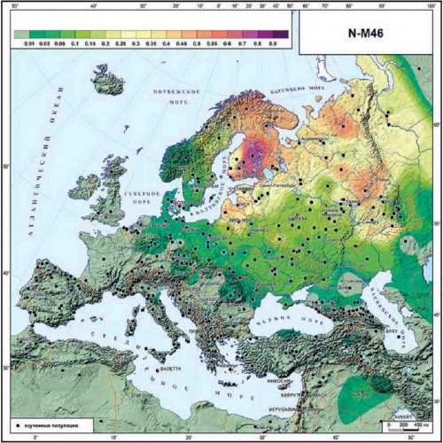 карта О.Балановского