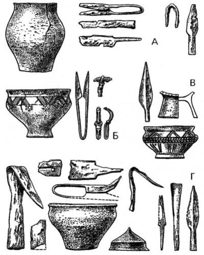керамика урновая