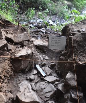 Место близ пещеры Мота в Эфиопии, где был найден древний африканец.