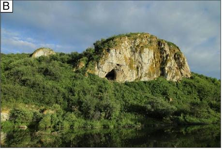 Чагырская пещера. Фото из статьи Kolobova et al., 2020