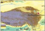 Расположение пещеры Байшия на карте (Zhang et al., 2020)