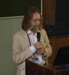 """Крис Тайлер-Смит на конференции """"100 лет популяционной генетики человека"""" в Москве, 2019 г."""