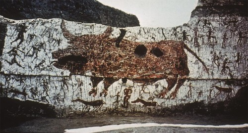 wall-painting-bull-hunt